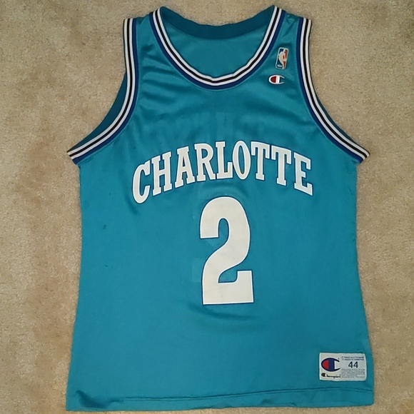 Larry Johnson Charlotte Hornets Jersey